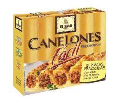 Pasta El Pavo canelones 12 placas 80g