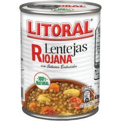 Lentejas Litoral riojana fácil apertura 430 g