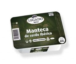 Manteca de cerdo ibérico Legado tarrina 400g