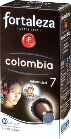 Café cápsulas Fortaleza puro Colombia 10 u
