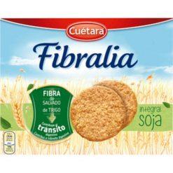 Galleta Cuétara Fibralia Integral con soja 550 g