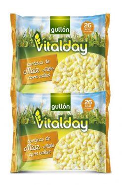 Tortitas Gullón maíz Vitalday 4x27.2 g