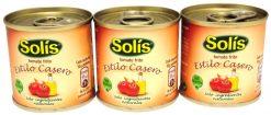 Tomate Solís casero frito bote 3x100 g