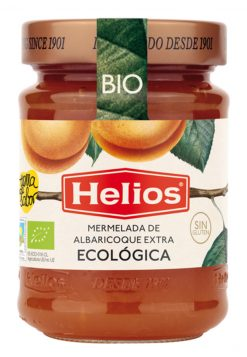 Mermelada Helios ecológica albaricoque 350 g