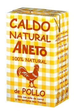 Caldo Aneto pollo 100 % natural 1 l