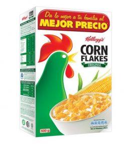 Cereales Kellogg's Corn Flakes 500 g