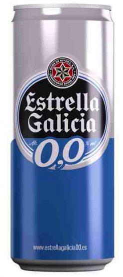 Cerveza Estrella Galicia 0