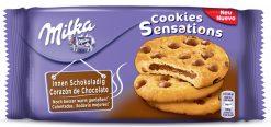 Galleta Milka Cookies Sensations 156 g