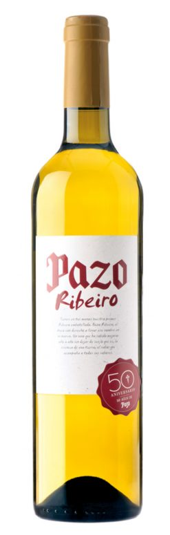 Vino Ribeiro Pazo blanco 75 cl
