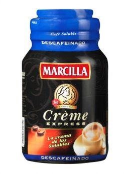 Café Marcilla soluble descafeinado creme 200 g