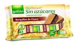 Galletas Gullón DietNature barquillos de chocolate sin azúcar 210 g