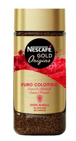 Café Nescafé puro Colombia soluble 100 g