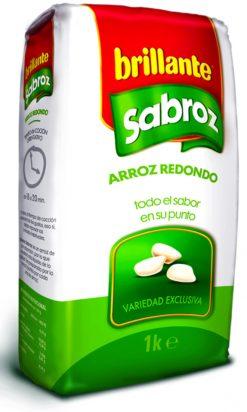 Arroz Brillante Sabroz Redondo 1 kg