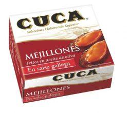 Mejillones Cuca en salsa gallega FA 50 g