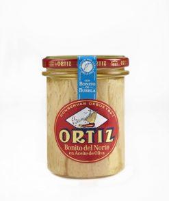 Bonito Ortiz en aceite de oliva frasco 150 g