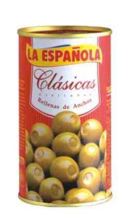 Aceitunas La Española rellena de anchoa 150 g