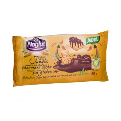 Galleta Santiveri Noglut Jungla Choco 60 g