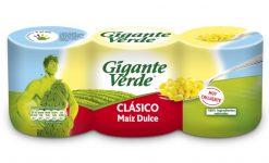 Maíz Gigante Verde dulce 3x140 g