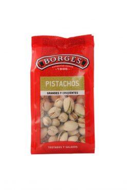 Pistachos Borges tostados salados bolsa 130 g