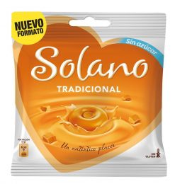Caramelo Solano sin azúcar tradicional 33 u