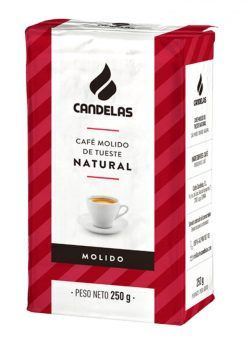 Café Candelas molido natural 250 g
