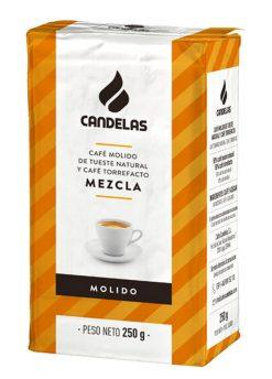 Café Candelas molido mezcla 250 g
