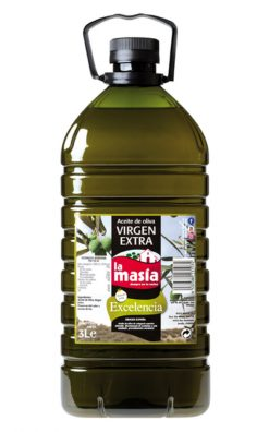 Aceite La Masía oliva virgen extra 3 l