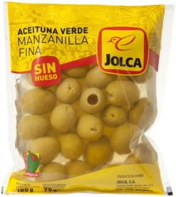 Aceitunas Jolca sin hueso bolsa 75 g