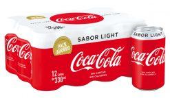 Coca-Cola lata light pack-12x33cl