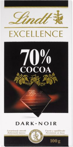 Chocolate Lindt Excellence 70% cacao 100 g