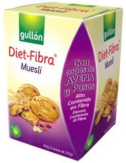 Galletas Gullón diet-fibra muesli 450 g