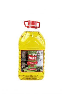 Aceite La Masía oliva 0.4 suave 3 l