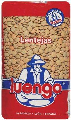 Lenteja Luengo Castellana extra 1 kg