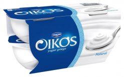 Yogur Danone Oikos natural 4x110 g
