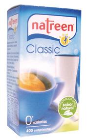 Edulcorante Natreen 400 comprimidos 25