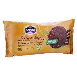 Tortitas Santiveri Noglut arroz chocolate con leche 8 u 120 g