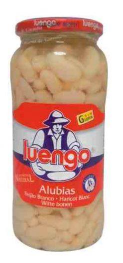 Alubias Luengo cocidas frasco 400 g