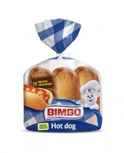 Pan Hot Dog Bimbo 6 u 330 g