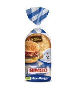 Pan burguer Maxi Bimbo 4 u 300 g