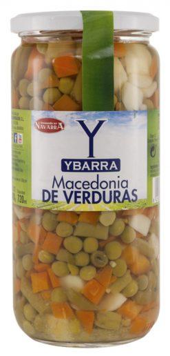 Macedonia de verduras Ybarra frasco 325 g