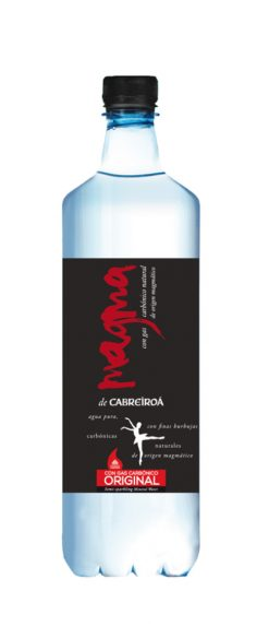 Agua Cabreiroá Magma con gas original pet 1l