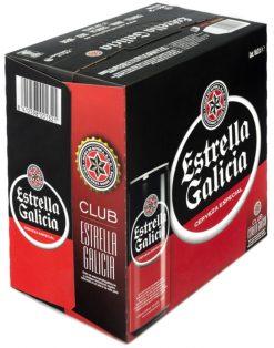 Cerveza Estrella Galicia lata pack 16x33 cl