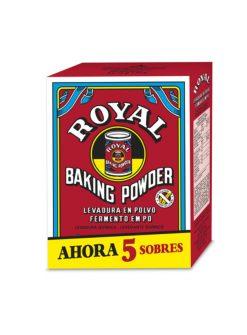 Levadura Royal 5 sobres 16 g