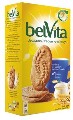 Galletas Fontaneda Belvita desayuno leche y cereales 300 g