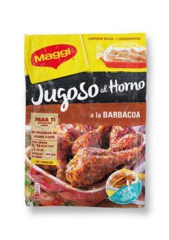 Salsa Maggi jugoso al horno costillas a la barbacoa 30g