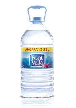 Agua Font Vella garrafa 6.25 l