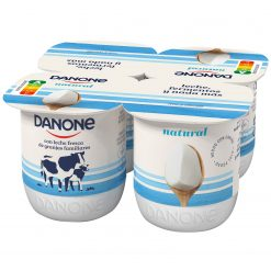 Yogur Danone natural Pack 4x120 g