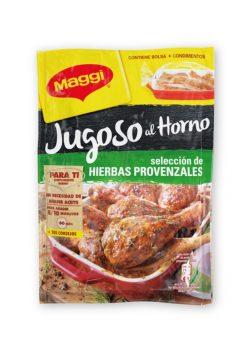 Salsa Maggi jugoso al horno selección de hierbas provenzales 34g