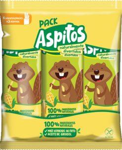 Aperitivo de maiz Aspil Aspitos 6 u 36 g
