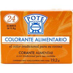 Colorante Pote 24 sobres 19.2 g